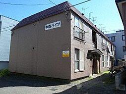 北海道札幌市北区北三十一条西6丁目の賃貸アパートの外観