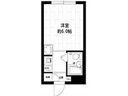 メゾン・ド・ノア錦町[1階]の間取り