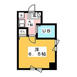 ハーモニーマンション[6階]の間取り