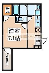 フジパレス堺梅北3番館[1階]の間取り