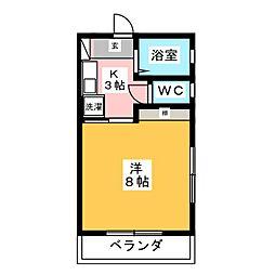 竜美東SKYHILLS6[1階]の間取り