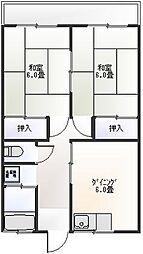 ロイマンション[102号室]の間取り