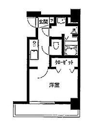 グリフィン横浜・ルミエール[10階]の間取り