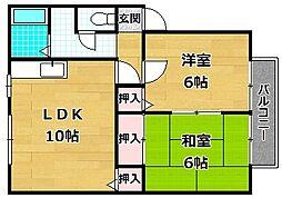サンシャインI[2階]の間取り