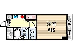 ロイヤルミサワ[4階]の間取り