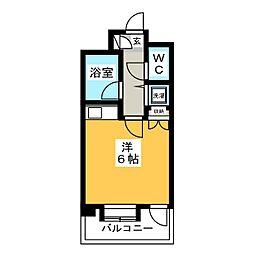 朝日プラザ博多IV[2階]の間取り