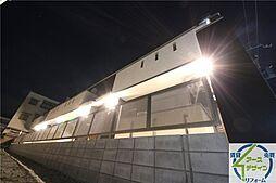 兵庫県明石市材木町の賃貸アパートの外観