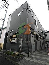 東京都文京区小日向1丁目の賃貸アパートの外観