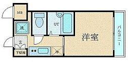 東京都渋谷区大山町の賃貸マンションの間取り