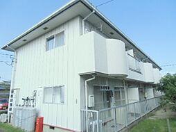 徳島県徳島市北島田町3丁目の賃貸アパートの外観