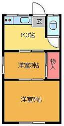 ヤマトハウス[105号室]の間取り