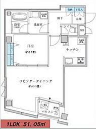 クアルゾ フジミ[6階]の間取り