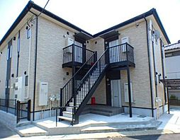 千葉県船橋市東船橋2丁目の賃貸アパートの外観