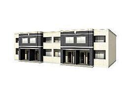 木更津市長須賀593番1新築アパート[103号室]の外観