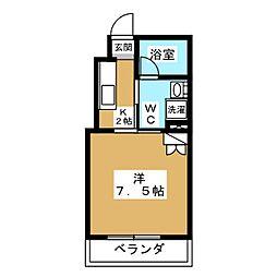 マルティ円町[2階]の間取り