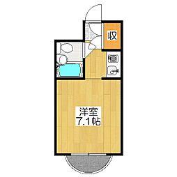 コートプリモ[1階]の間取り