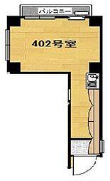 NKビル エヌケイ[402号室]の間取り