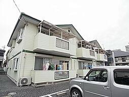 千葉県松戸市新松戸6丁目の賃貸アパートの外観