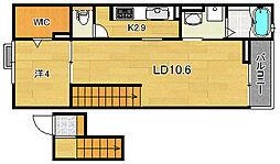 ライルII[1階]の間取り