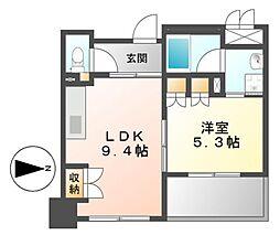 IZUMI 1[6階]の間取り