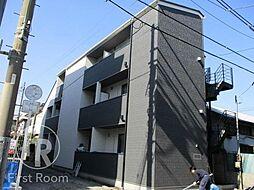 東京都大田区西糀谷3丁目の賃貸アパートの外観