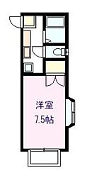 ロフティ峰ヶ丘[2階]の間取り