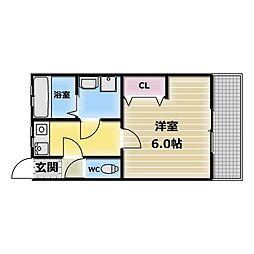 富士屋マンション[3階]の間取り