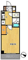 コンフォリア文京白山[2階]の間取り