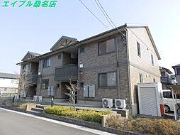 三重県桑名市新倉持の賃貸アパートの外観