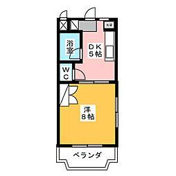 トライアングル[1階]の間取り
