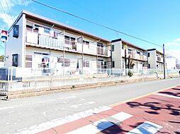 千葉県松戸市六高台3の賃貸アパートの外観