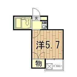 スターホームズ鶴ヶ峰II[101号室]の間取り