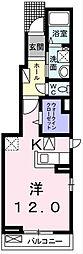 トーラス II[1階]の間取り