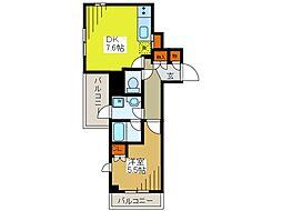 クリオコンフォート府中[4階]の間取り