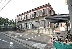 神奈川県横浜市南区永田山王台の賃貸アパートの外観