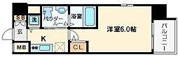 エスリード新大阪ノース[7階]の間取り