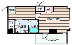 IF西梅田[7階]の間取り