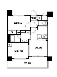 エステムプラザ神戸西IVインフィニティ[11階]の間取り