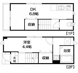 [一戸建] 東京都墨田区東駒形3丁目 の賃貸【/】の間取り