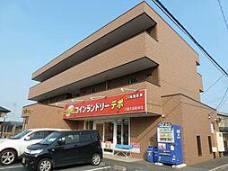 埼玉県川越市大袋新田の賃貸アパートの外観