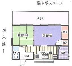 [一戸建] 神奈川県高座郡寒川町一之宮3丁目 の賃貸【/】の間取り