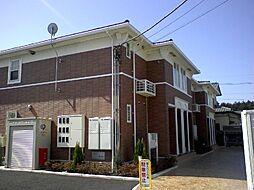 神奈川県大和市深見西7丁目の賃貸アパートの外観