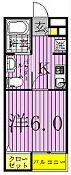 Court Arble 〜コート・アーブル〜[2階]の間取り