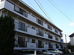 東京都府中市八幡町2丁目の賃貸マンションの外観