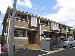 千葉県佐倉市臼井台の賃貸アパートの外観