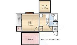 姪浜駅 3.8万円