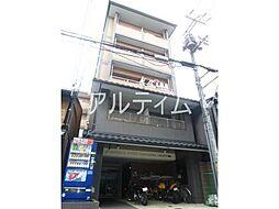 京都府京都市下京区万里小路町の賃貸マンションの外観