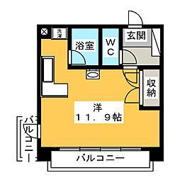 YK50[6階]の間取り