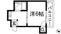 兵庫県川西市栄根1丁目の賃貸マンションの間取り
