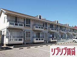 千葉県千葉市中央区都町2丁目の賃貸アパートの外観